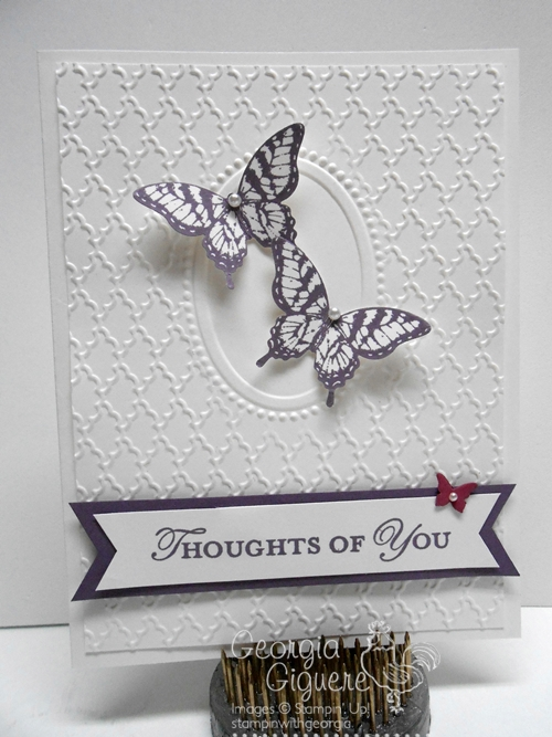 Double Embossed Card