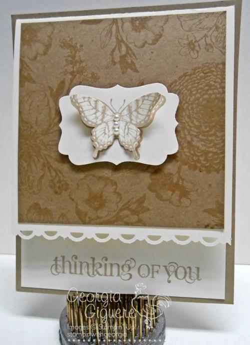 Papillon Potpouri Card