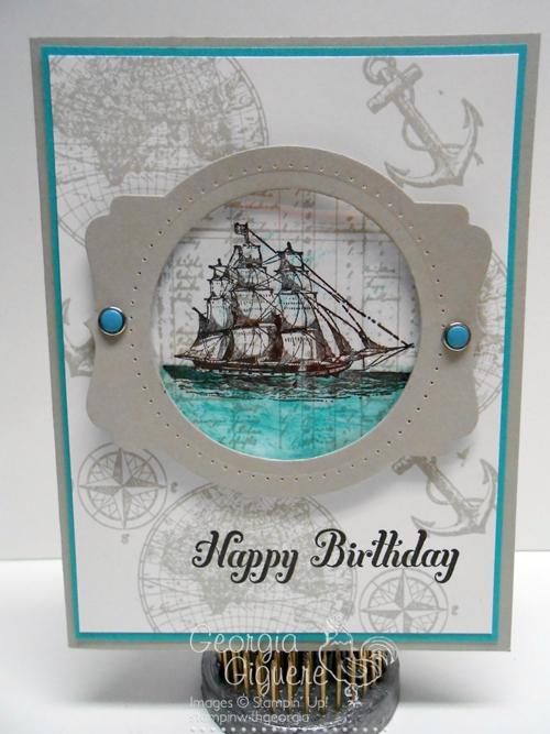Open Seas card