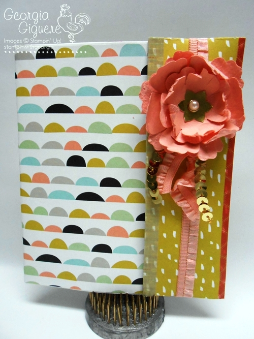 Sweet Sorbet Mini Scrapbook