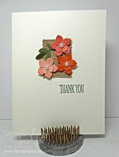 Petite Petals Card larger