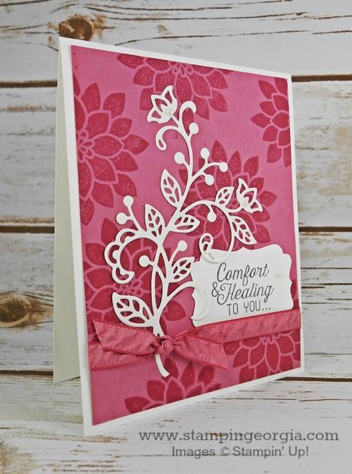 Flourishing Phrases Card Side