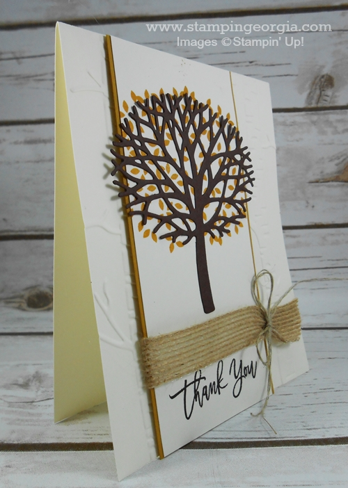 Thoughtful Branches card Side