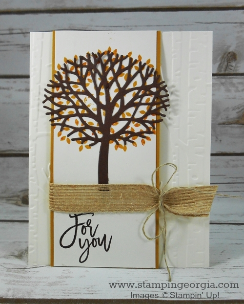 Thoughtful Branches Card FY