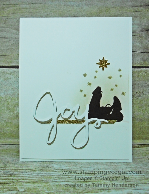 Joyful Nativity Christmas Card
