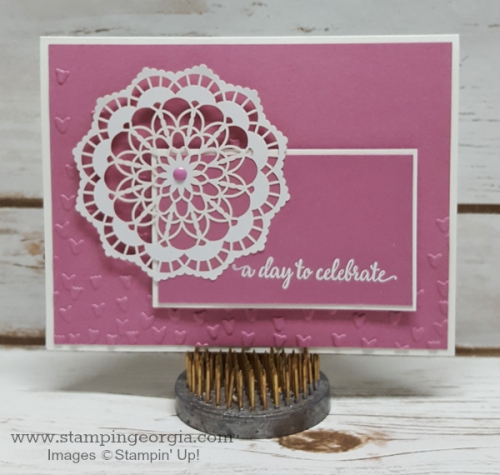 Falling Petals Sweet Sugarplum Card
