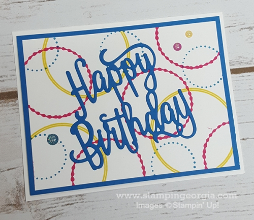Eastern Beauty Birthday Card