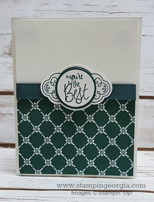 Tranquil Tide Label Me Pretty Card