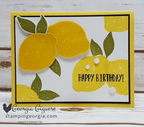 Lemon Zest Card