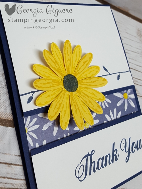 Daisy Delight Bundle Card Flat