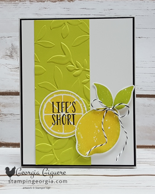 Lemon Zest Lemon Lime Card