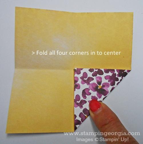 Fun Fold Step 2