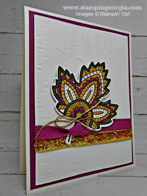 Lighthearted Leaves Card