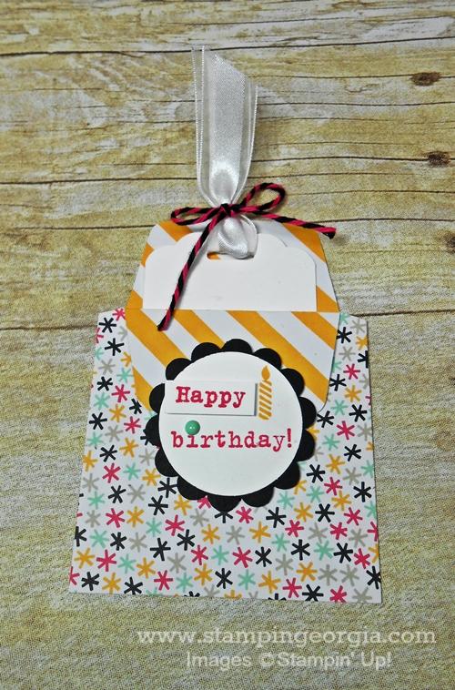 Bday Gift Card Holder