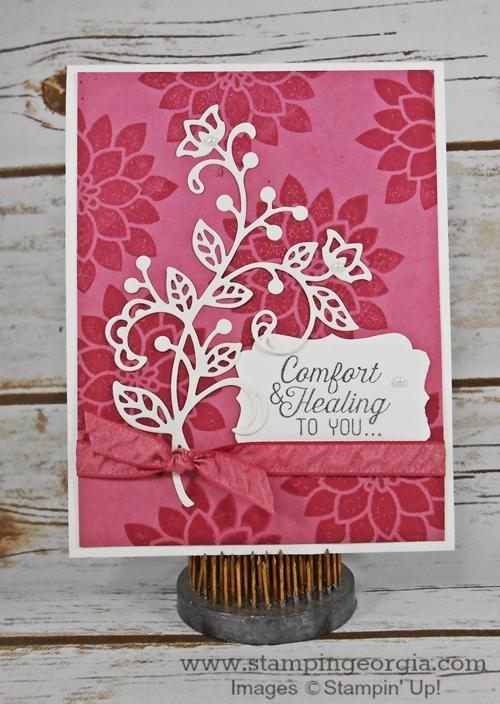 Flourishing Phrases Card