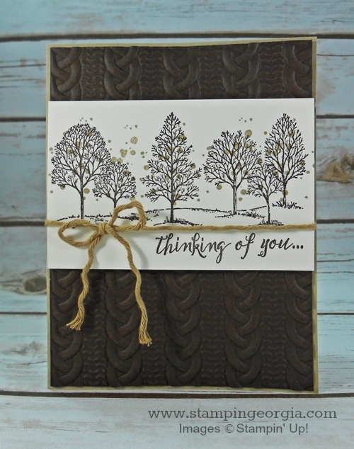 Lovely As Tree Card