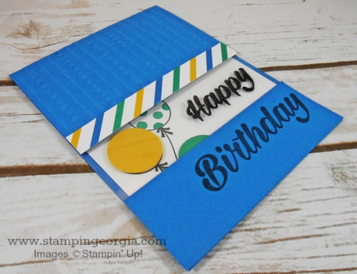 Birthday Bright Window Card