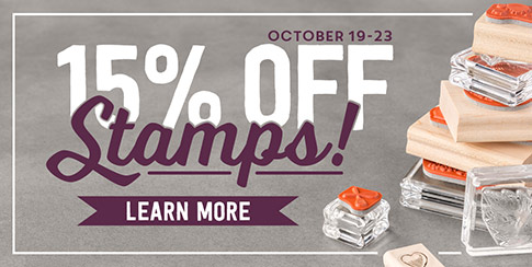 15% off Stamps