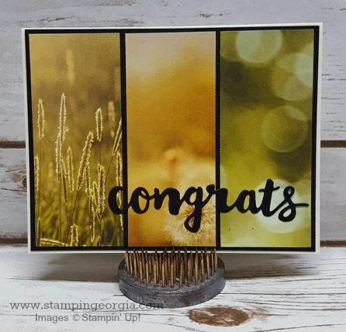Serene Scenery Congrats card BB