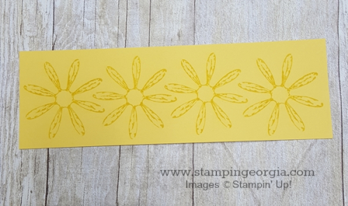 Daisy stamping